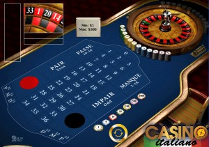 Roulette francese in 58767
